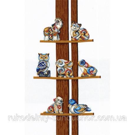 Набор для вышивки крестом Сделай Своими Руками Коллекция статуэток С-43