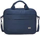 "Сумка для ноутбука CASE LOGIC Advantage Attache 11.6"" ADVA-111 (Dark Blue), фото 3"