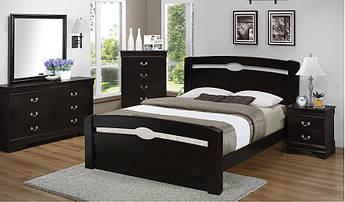 Деревянная кровать К-4 MegaMebli