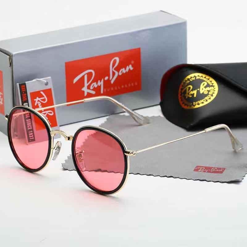 Круглые солнцезащитные очки Ray Ban 3517 C4