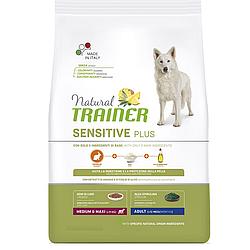 Корм Natural Trainer Dog Sensitive Medium&Max With Rabbit для середніх великих порід з кроликом 12кг