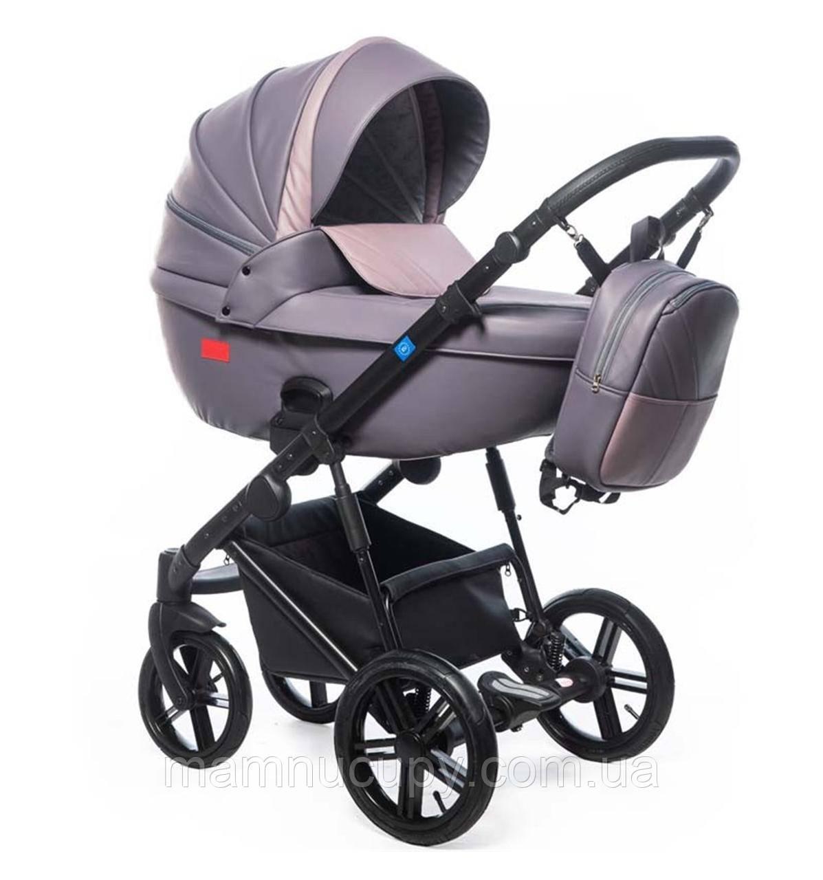 Детская универсальная коляска 3 в 1 Broco Avenue 02 Violet (Броко Авеню)