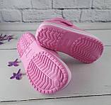 Обувь детская для девочек. Кроксы American club розовый размер 35, фото 4