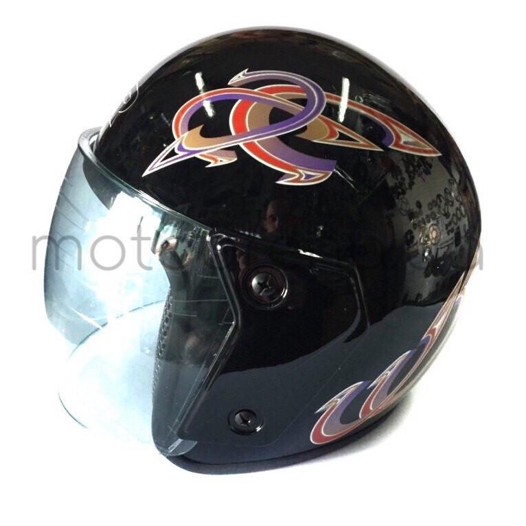 Шлем 207 без бороды (чёрный )