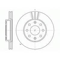 Тормозной диск передний CHEVROLET AVEO (T200, T250) , пр-во ABE C30012ABE