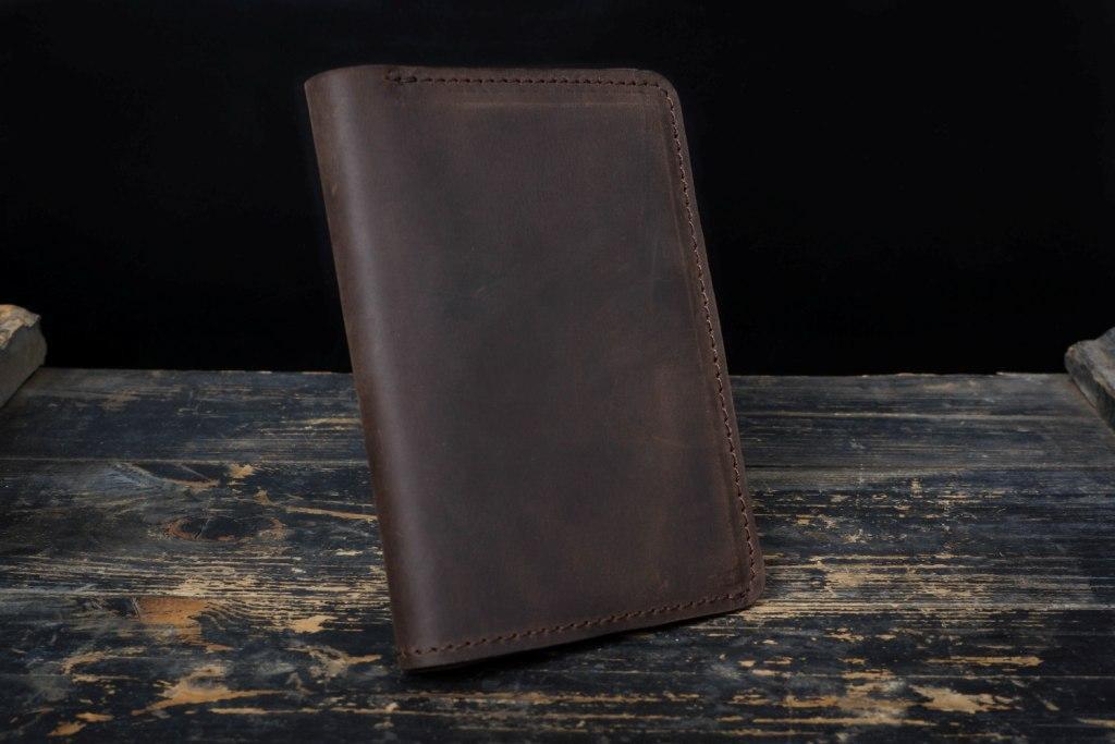 Портмоне кошелёк мужской Космополит коричневый
