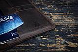 Портмоне кошелёк мужской Космополит коричневый, фото 5