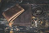 Портмоне кошелёк мужской Космополит коричневый, фото 7
