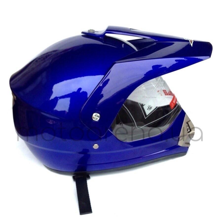 Шлем BLD кроссовый (синий)