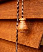 Дерев'яні і бамбукові жалюзі