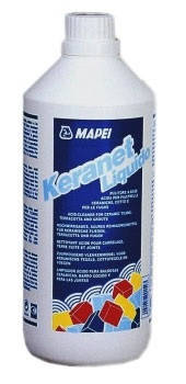 Очищувач кислотовмісний KERANET,  MAPEI, 1л, фото 2