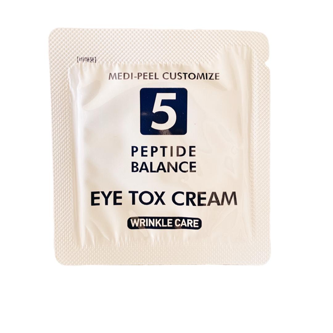 ПРОБНИК Антивозрастной пептидный крем для глаз с эффектом ботокса MEDI PEEL 5GF EYE TOX CREAM 1,5 мл