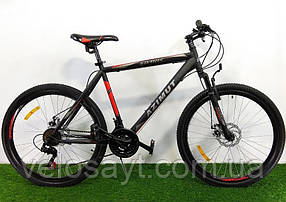 "Горный велосипед 26 дюймов Azimut Spark FRD рама 20 "" BLACK-RED"