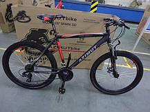 "Горный велосипед 26 дюймов Azimut Spark FRD рама 20 "" BLACK-BLUE, фото 3"