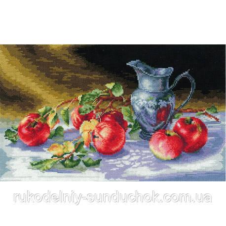 Набір для вишивки хрестом Зроби Своїми Руками Соковиті яблука-27