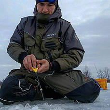 Костюм для зимней рыбалки Graff FLOAT GUARD 214-O-B (до -15С), фото 2