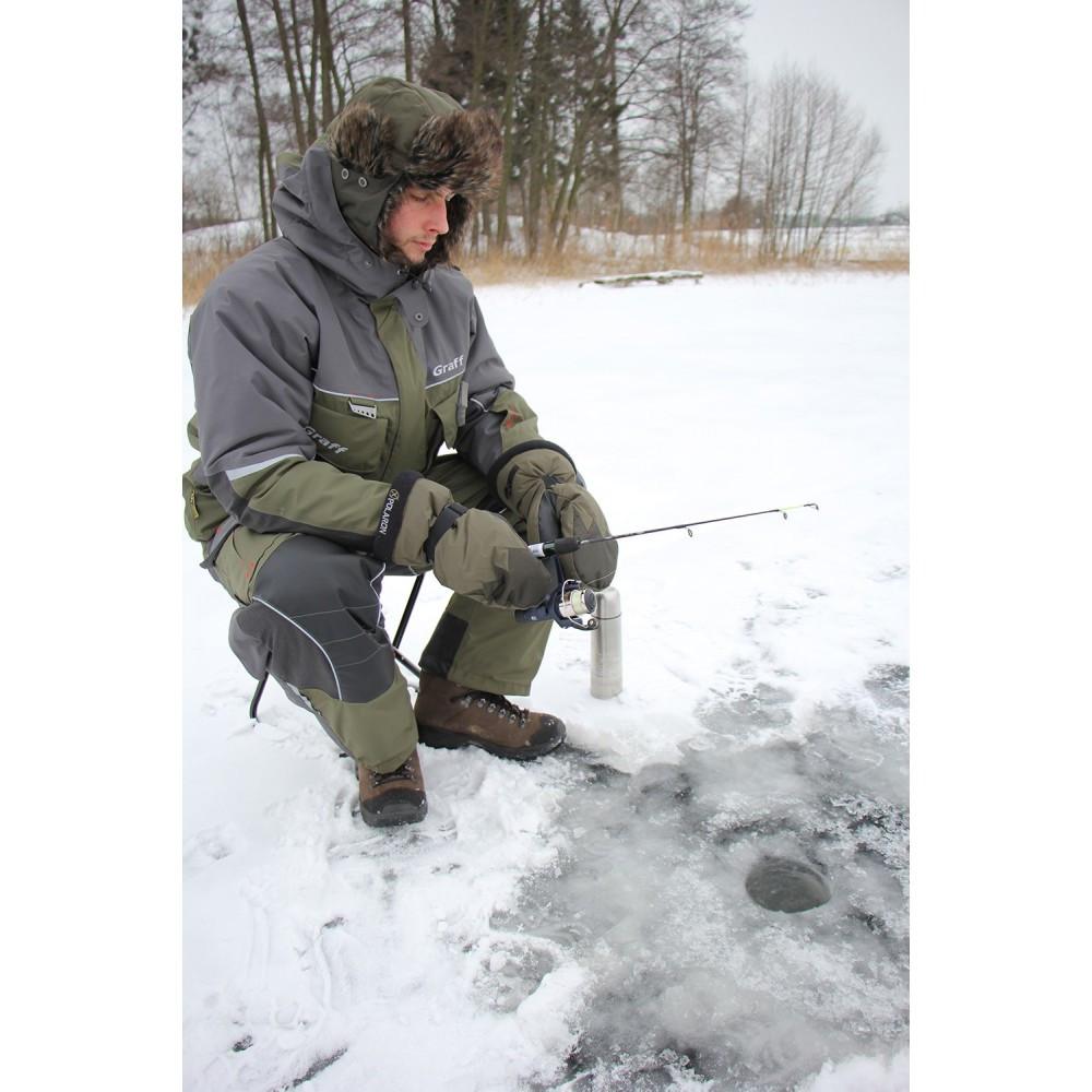 Костюм для зимней рыбалки Graff FLOAT GUARD 214-O-B (до -15С)