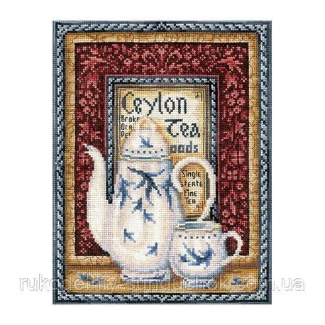 Набір для вишивки хрестом Зроби Своїми Руками Колекція чаю. Оранж Пеко До-40
