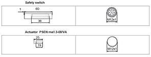 506246 PSEN ma1.3n-20/PSEN ma1.3-08/VA/1U, фото 2