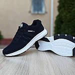 Мужские кроссовки Adidas NEO (черно-белые) 10077, фото 3