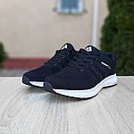 Мужские кроссовки Adidas NEO (черно-белые) 10077, фото 9