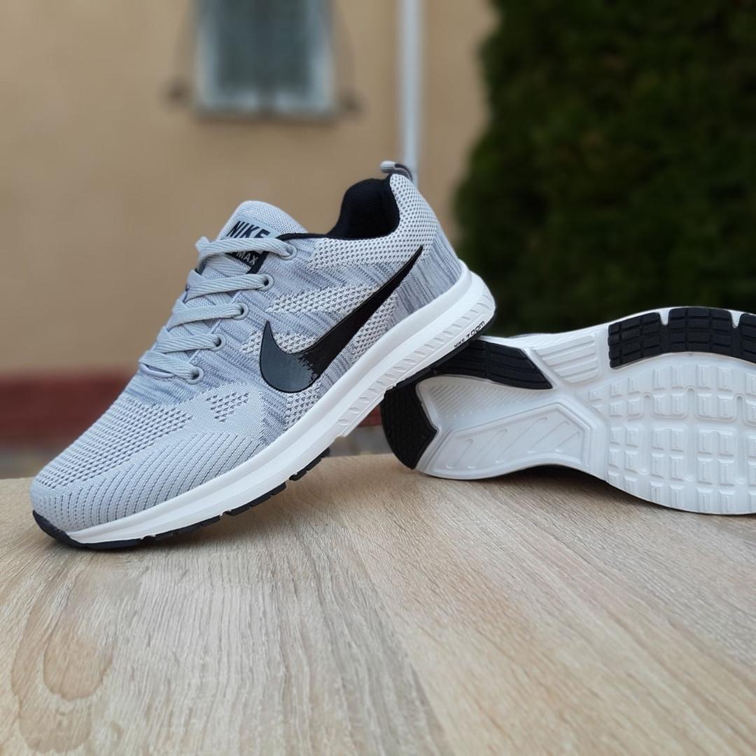 Мужские кроссовки Nike ZOOM (серые) 10079