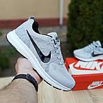 Мужские кроссовки Nike ZOOM (серые) 10079, фото 2