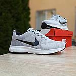 Мужские кроссовки Nike ZOOM (серые) 10079, фото 3