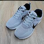 Мужские кроссовки Nike ZOOM (серые) 10079, фото 4