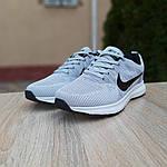 Мужские кроссовки Nike ZOOM (серые) 10079, фото 5