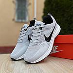 Мужские кроссовки Nike ZOOM (серые) 10079, фото 6