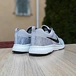 Мужские кроссовки Nike ZOOM (серые) 10079, фото 7
