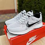 Мужские кроссовки Nike ZOOM (серые) 10079, фото 9