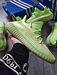 Мужские кроссовки Adidas Yeezy Boost 350 Glow Люминисцентные - 318PL, фото 2