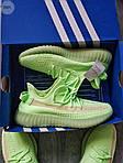 Мужские кроссовки Adidas Yeezy Boost 350 Glow Люминисцентные - 318PL, фото 6