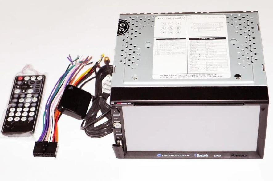 "АвтомагнитолаMP3 2DIN 6910 GPS USB (DVD)Автомобильная магнитола   7"" экран GPS-Mp3-Dvd-Tv/Fm-тюнер"