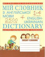 Мій словник английскої мови  1-4 класи