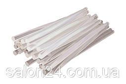 Клейові стрижні Intertool - 11,2 х 300 мм, прозорі пакет (1 кг)