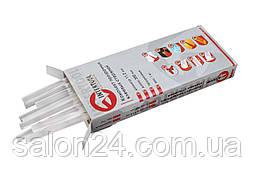 Клейові стрижні Intertool - 11,2 х 300 мм, прозорі (1 кг)