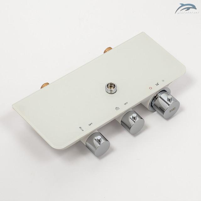Термостатический смеситель для душевой системы WEMI SWT-01 с переключателем на 2 режима работы.
