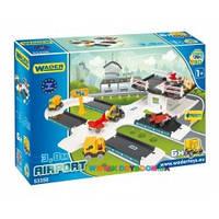 Wader  Игровой набор Kid Cars 3D – Аэропорт 53350