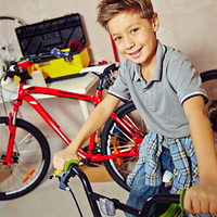 Дитячі велосипеди 16 дюймів