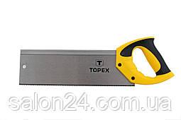 "Ножовка по дереву пасовочная Topex - 300 мм, 9T х 1"""