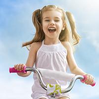 """Дитячі велосипеди з колесами 14"""" на 3-6 років із зростанням від 90 до 120 см"""