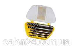 Набір екстракторів для гвинтів Topex - 5 шт. (3,3-19 мм)