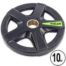 Набор полиуретановых олимпийских дисков (блинов) 80 кг TA-5335, фото 2