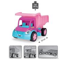 Большой игрушечный грузовик Гигант для девочек (без картона) 65006
