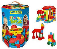 Конструктор в коробке 102 деталей Klocki Wader 41290