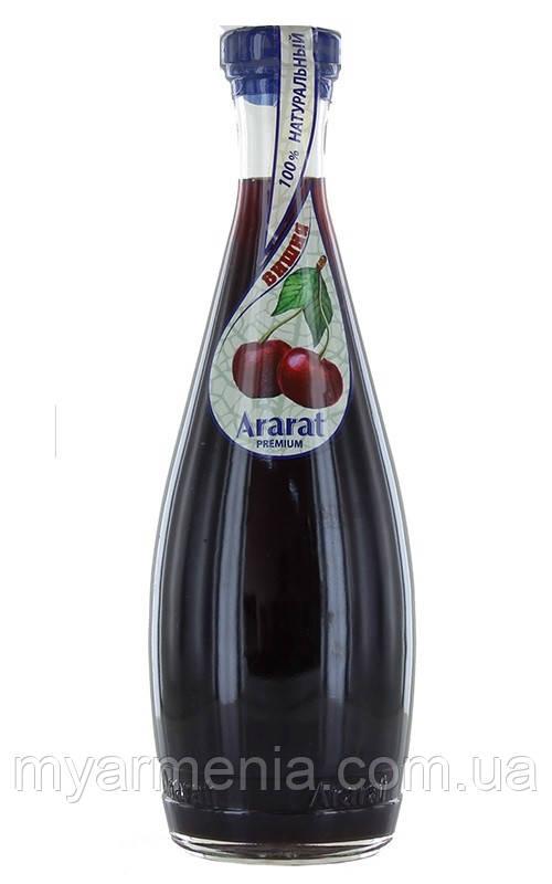 """Вірменський Нектар Вишневий """"Ararat Premium"""" 0.75 л"""