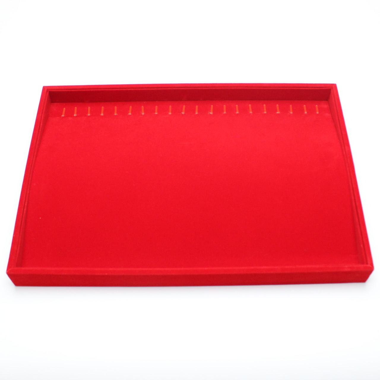 Ювелирный планшет под браслеты, цепочки 35х24х3 см Premium 20 крючков